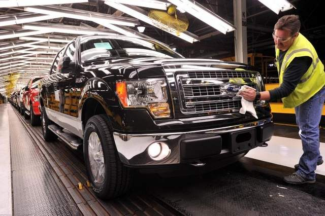Ford Motor Company Boosts Production To Meet Increased Demand