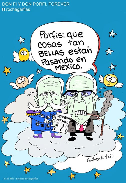Desde el mas allá: Don Fi y Don Porfi, forever..