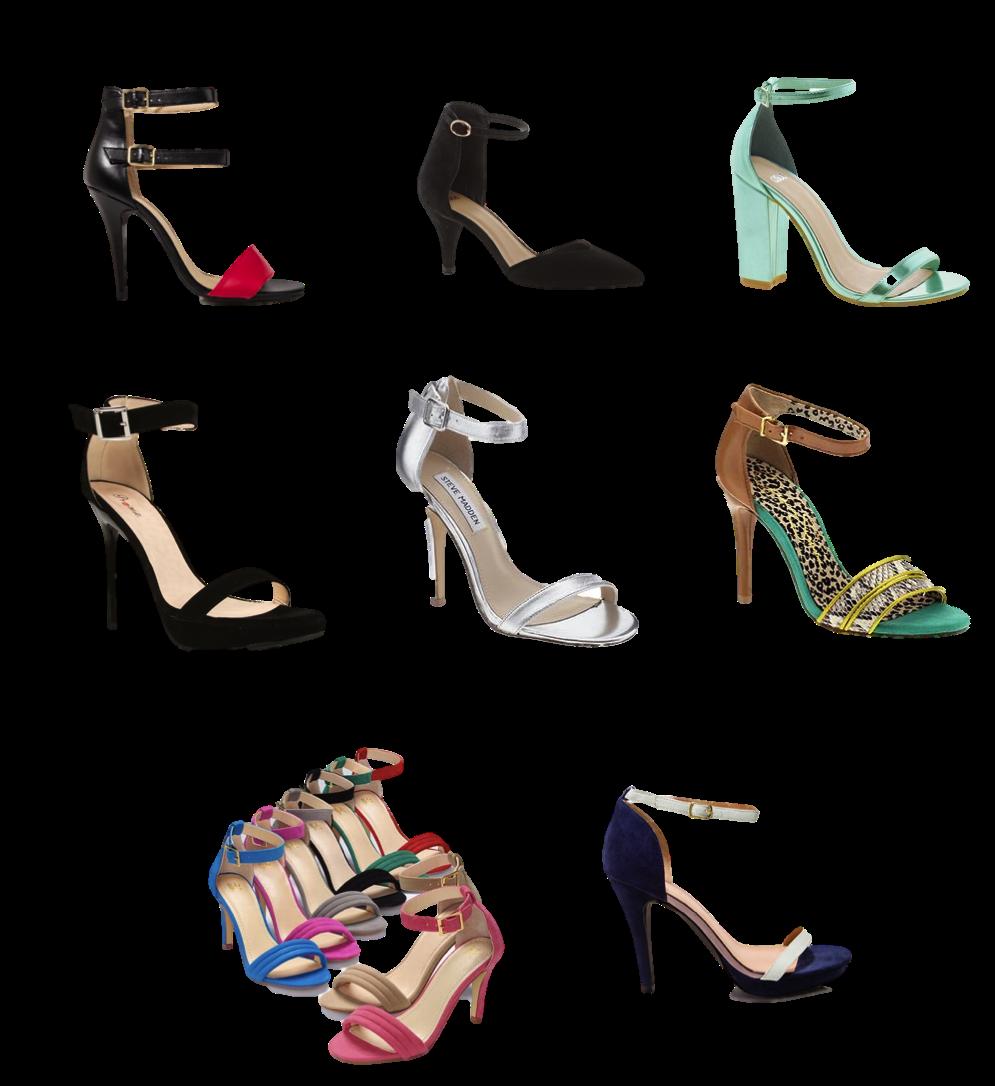 Sandal Ankle Strap Heels