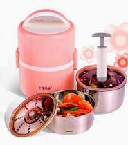 Warmer Rice Box  with Pump