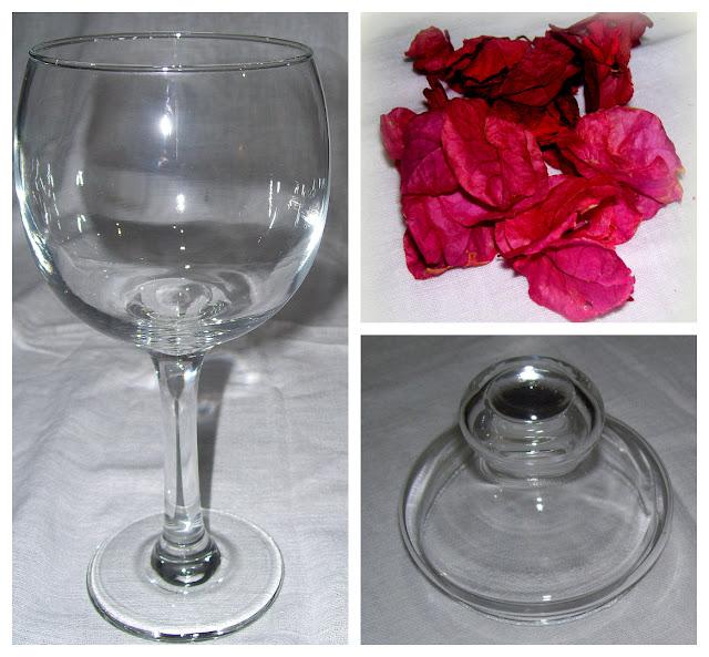Elementos para usar en el arreglo floral de bracteas secas