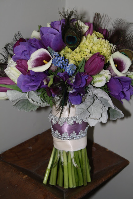 Franklin Plaza Ballroom Wedding Bouquet - Splendid Stems Floral Designs