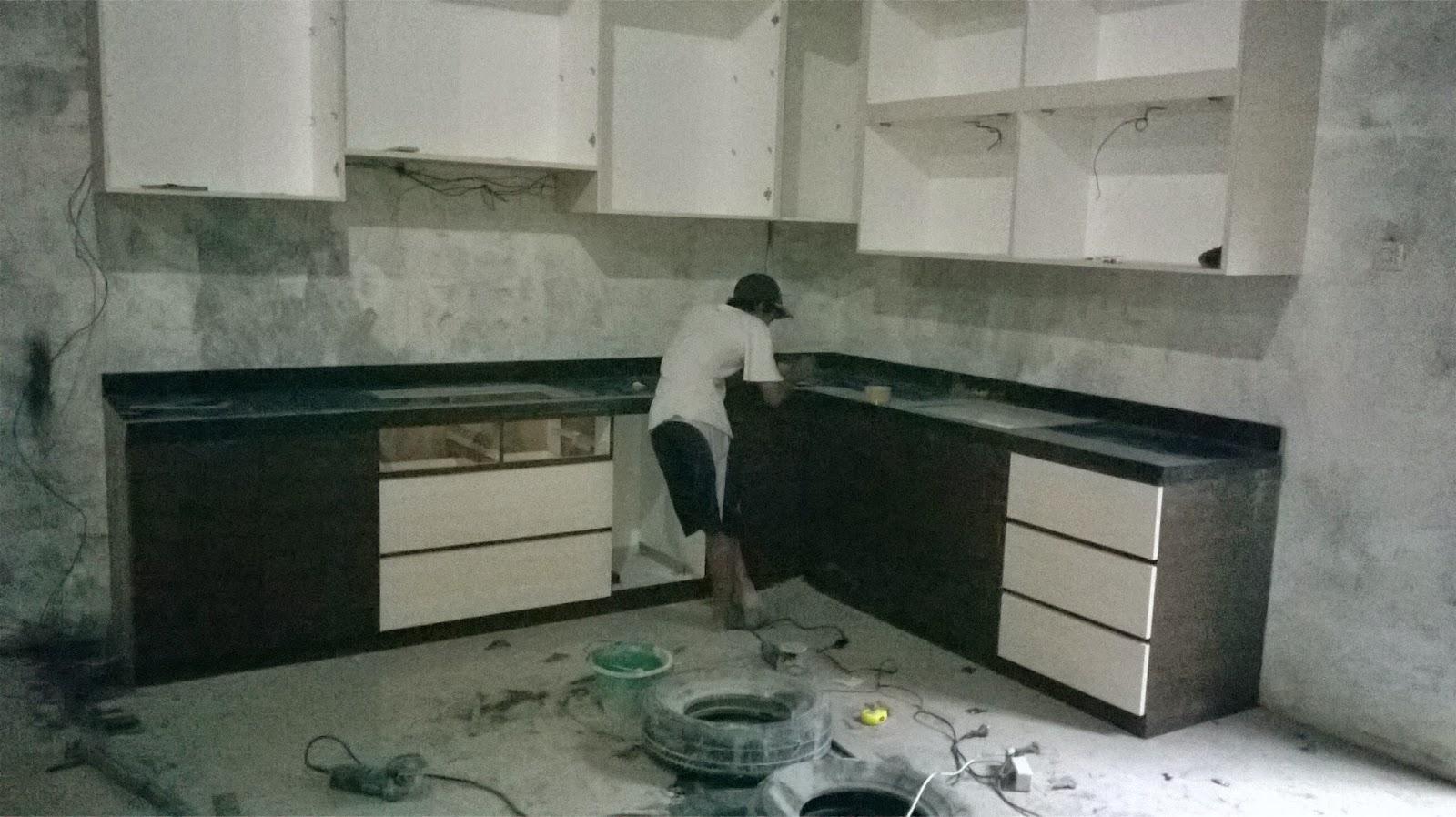 Alcitra Marmer Marmer Granit Kitchen Set