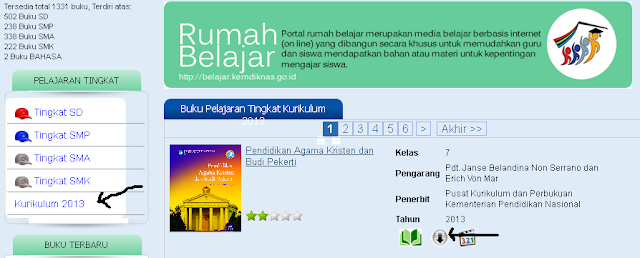 FREE DOWNLOAD E-BOOK PELAJARAN KURIKULUM 2013