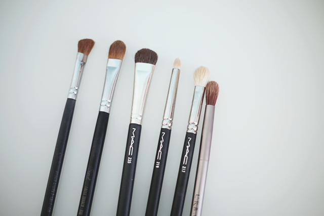 favourite eye brushes/ eye brushes guide