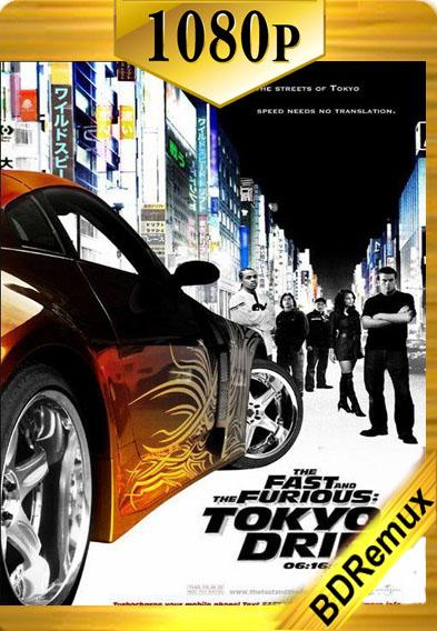 Rapido y Furioso Reto Tokyo (2006) Remux [1080p] [Latino] [GoogleDrive]