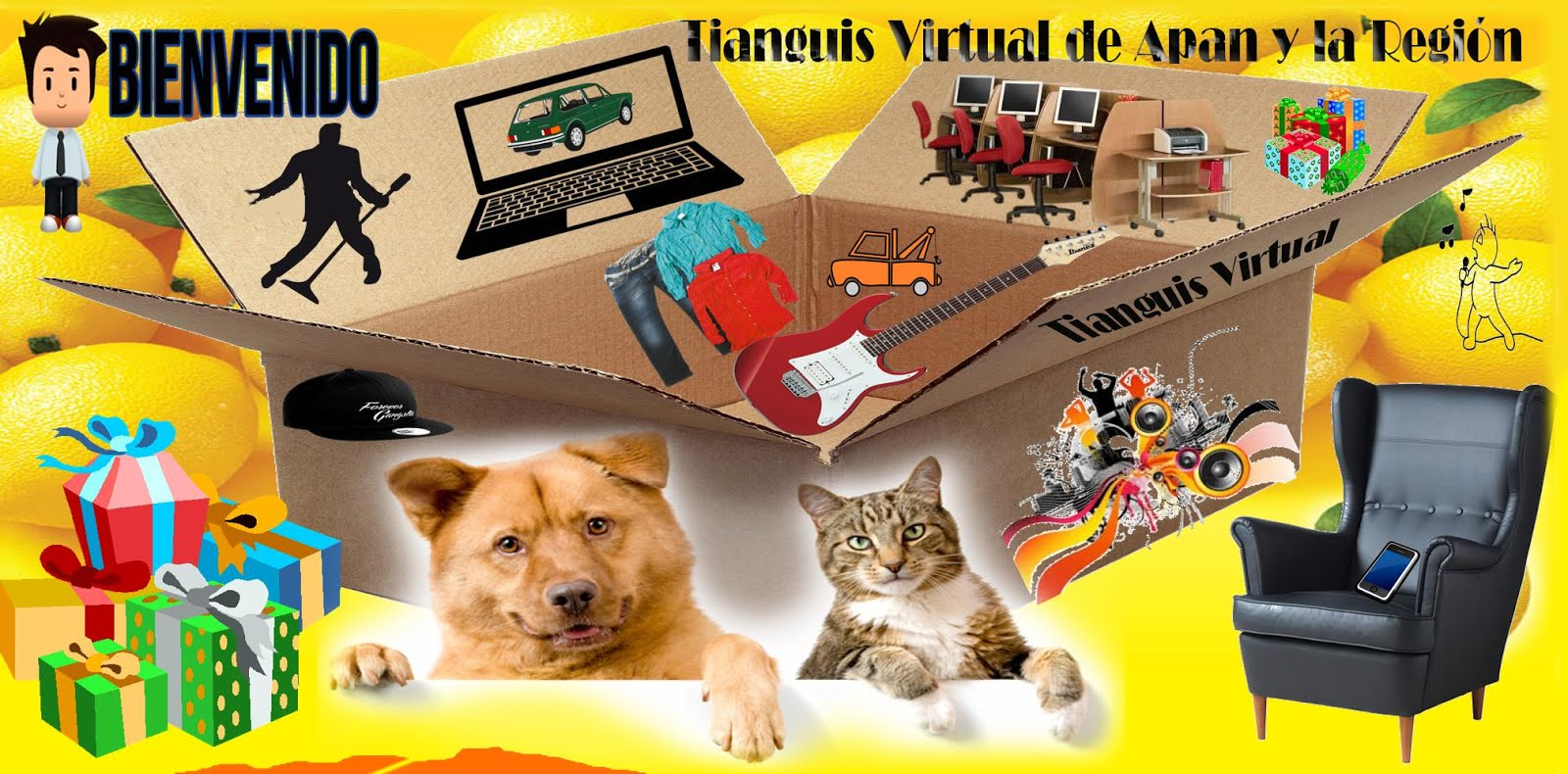 Anunciate en Tianguis Virtual Hidalguense