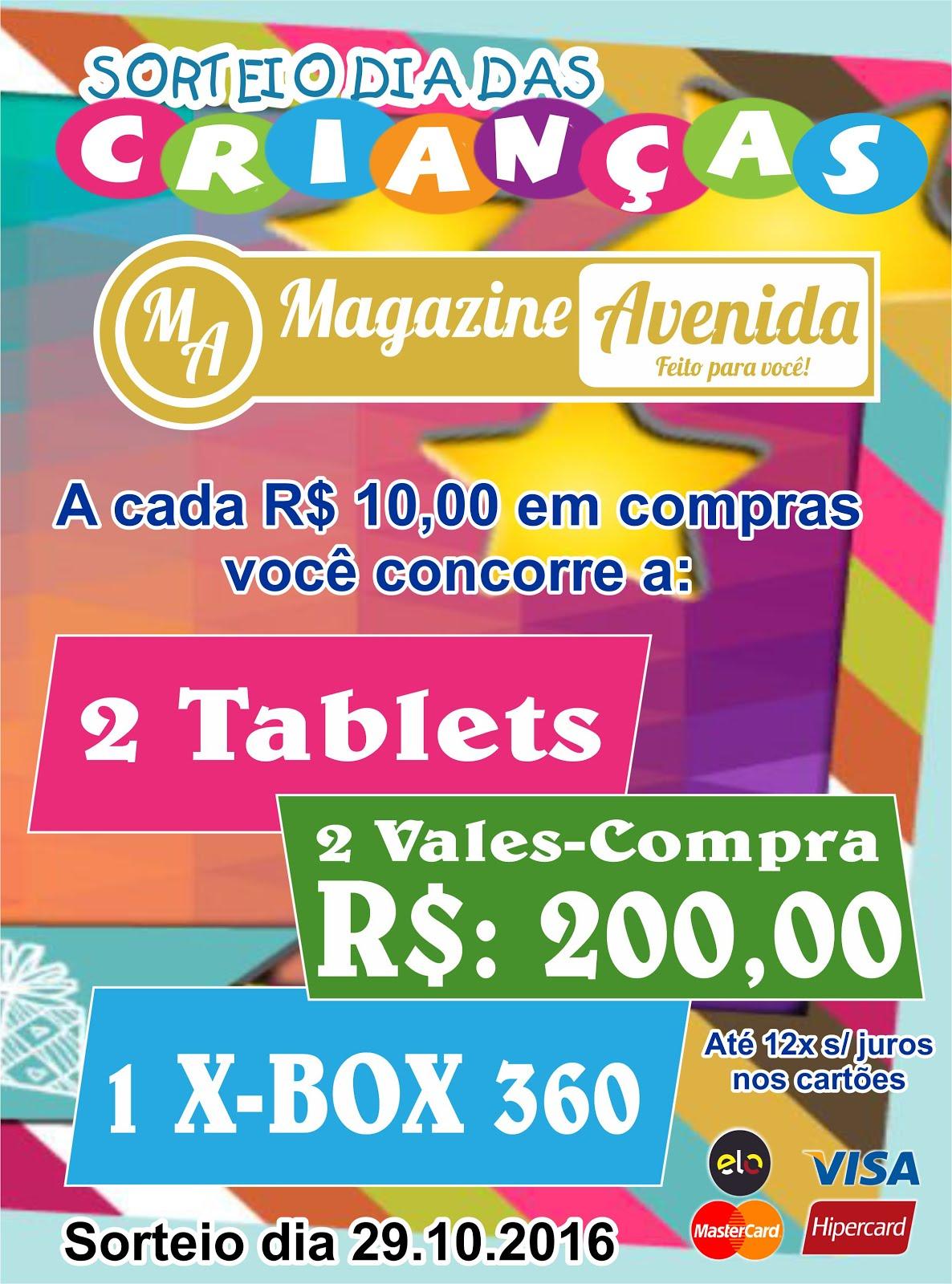 Dia das Crianças Magazine Avenida