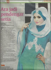 Cover Story in Mingguan Malaysia newspaper