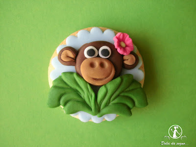 biscotti scimmietta