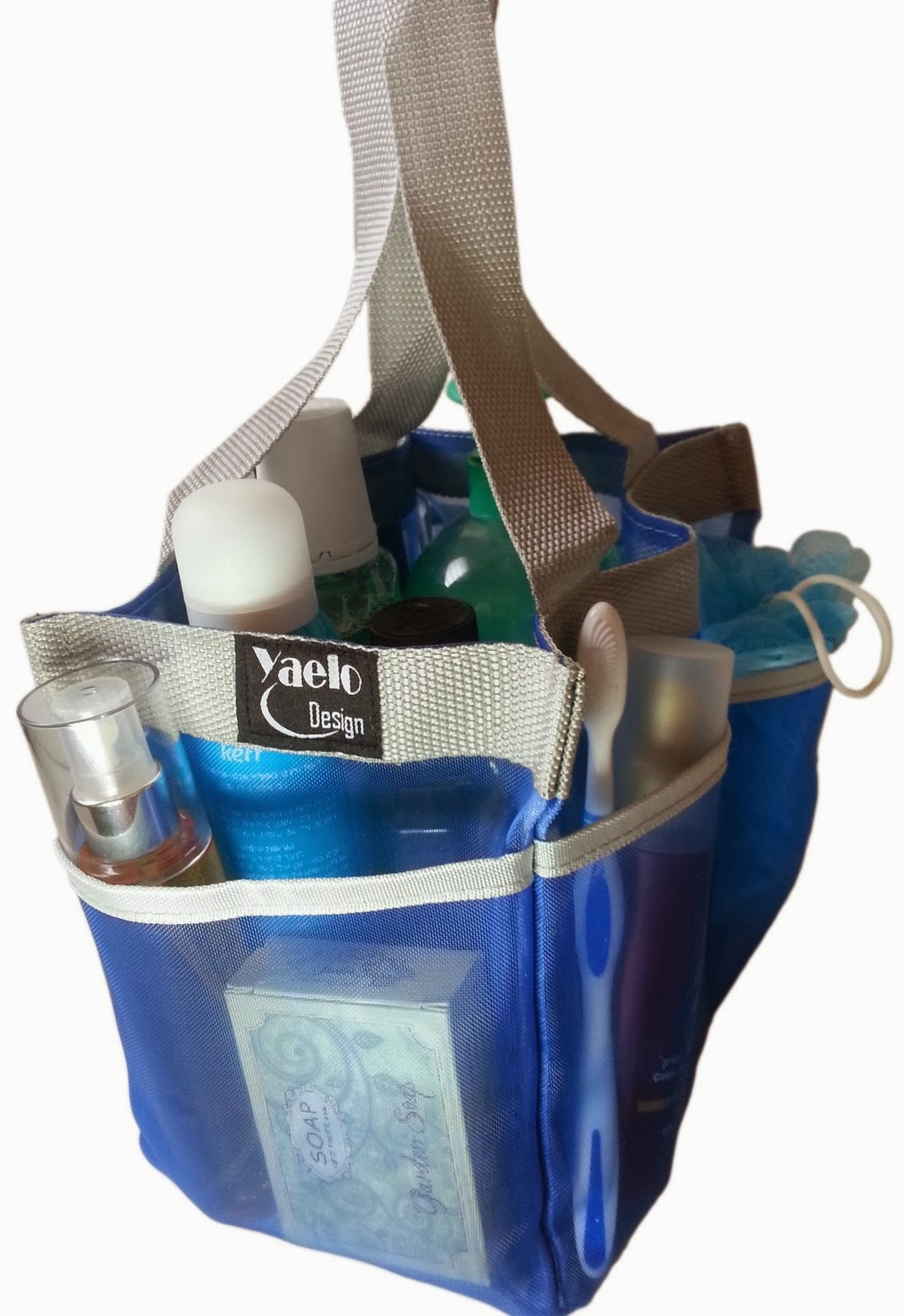Mesh Shower Tote functionality, affordability, and quality rolled into one: mesh