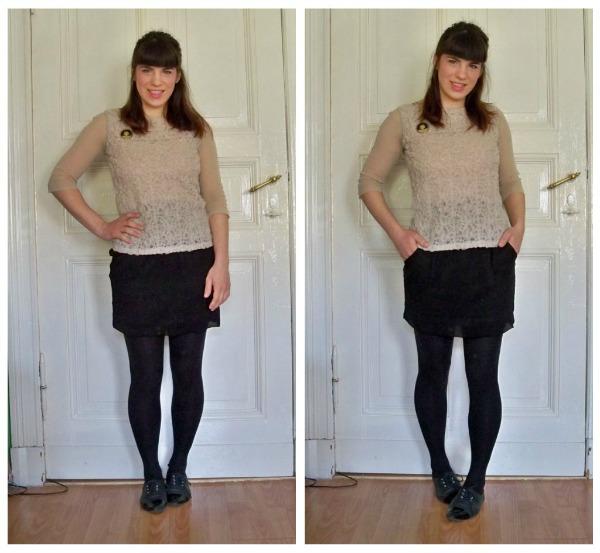 30 Kleidungsstücke für 30 Tage ergeben 30 verschiedene Outfits Tag 22