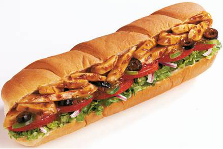 It s raining deals free foot long sub with purchase on 4 16 at subway