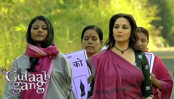 Madhuri Dixit in Gulaab Gang Movie Photo
