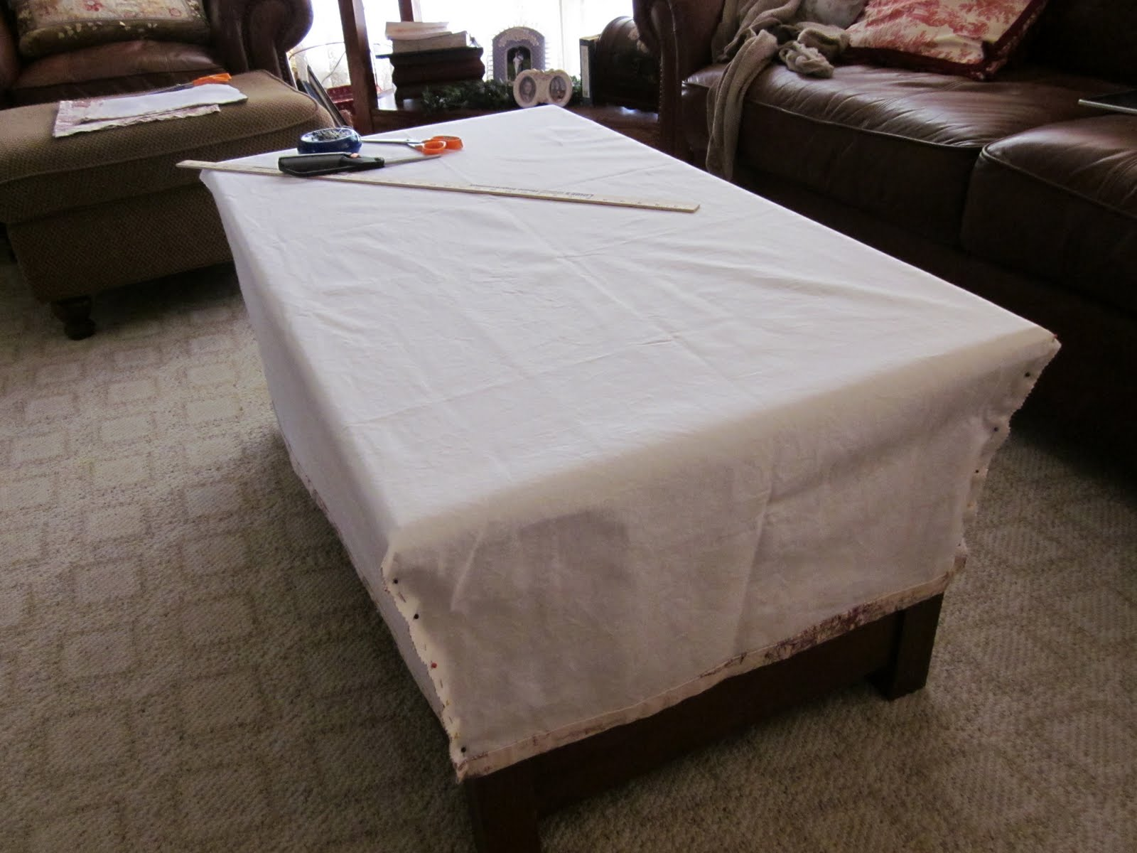 Rosechicfriends Coffee Table Slipcover