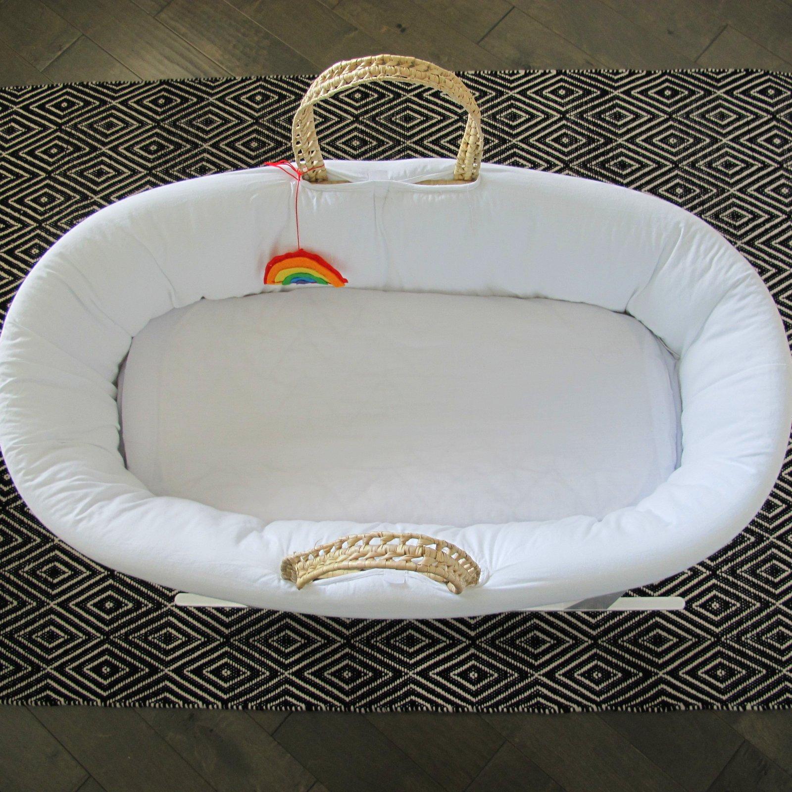 everyday plaid basket for bebe. Black Bedroom Furniture Sets. Home Design Ideas