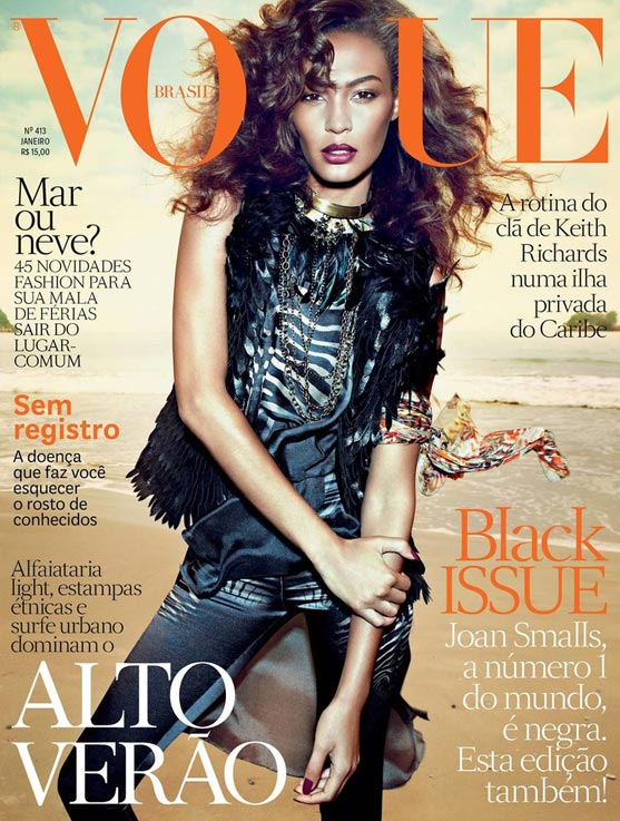 Joan Smalls Vogue Brazil january 2013