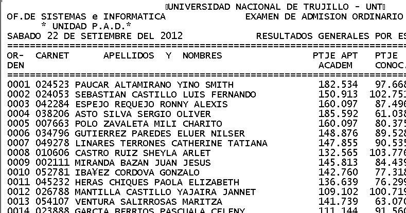 ingresantes UNT 2013 I Areas C y D Letras: Examen (sábado 22 de ...