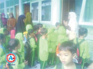 TK Raudatul Athfal-Al Ikhlas Gelar Kegiatan 'Outbound'
