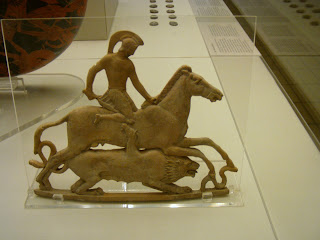 Bellerophon and Chimera plaque, Island of Milos, The British Museum, London