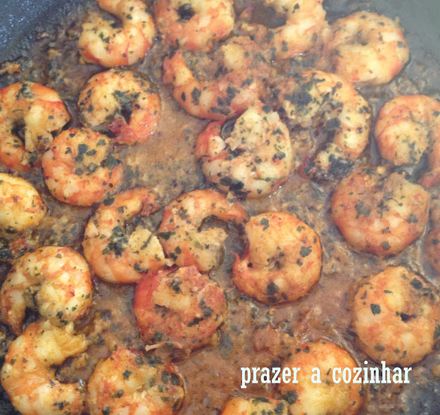 prazer a cozinhar - camarões
