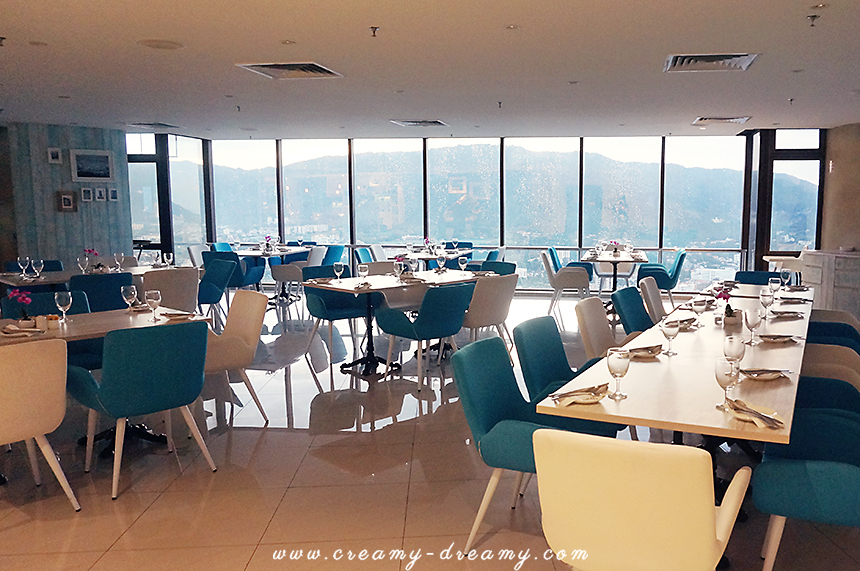59sixty Dinning Room Is Located At 59th Floor Of Komtar Beautifully Decorated In