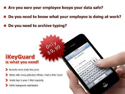 iKeyGuard app for iPhone