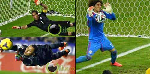 5 Kiper Sepakbola Terhebat  di Piala Dunia 2014 Brasil