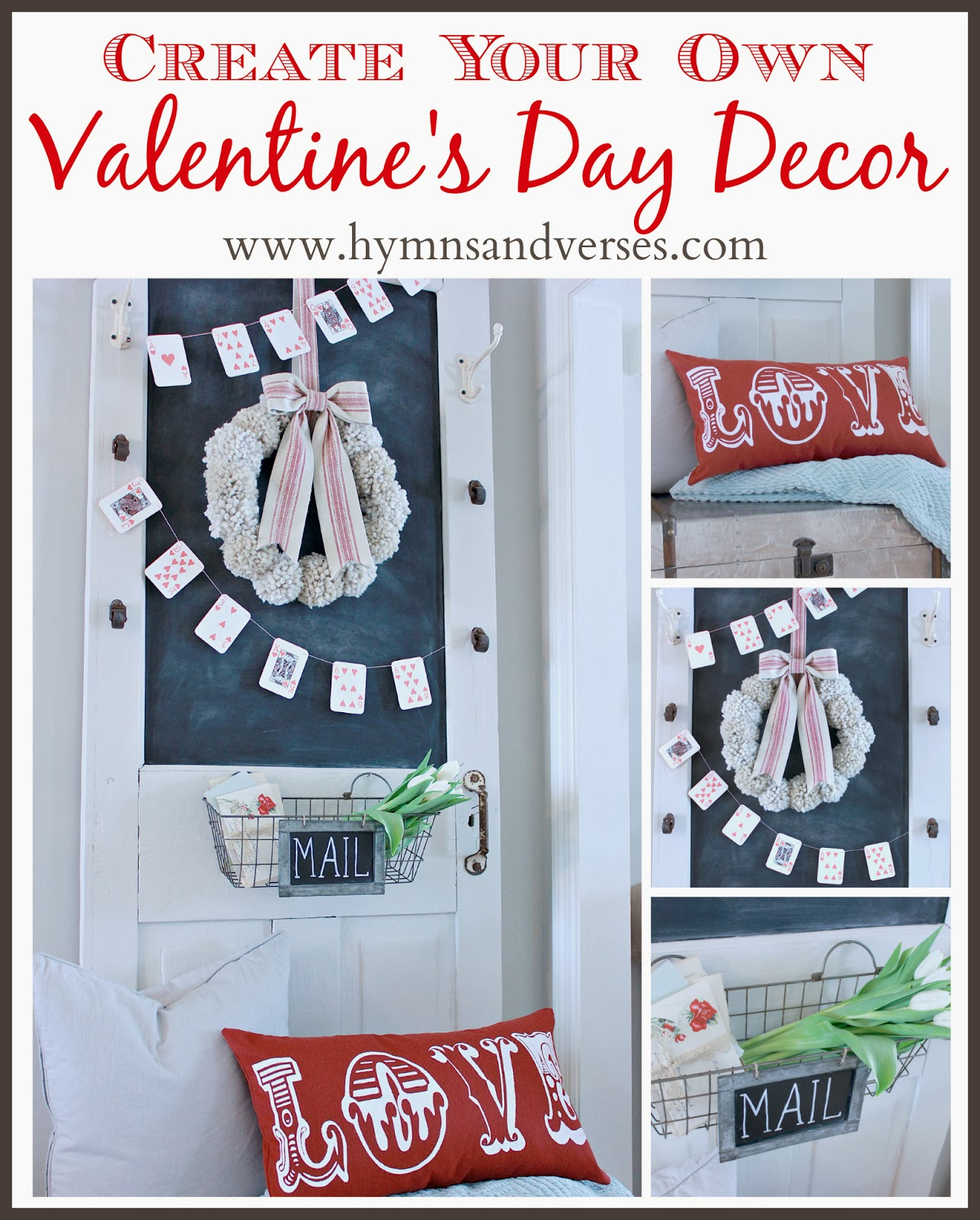 Hymns And Verses Create Your Own Valentine 39 S Day Decor