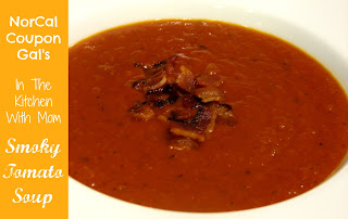 In The Kitchen With Mom Mondays: Smoky tomato soup