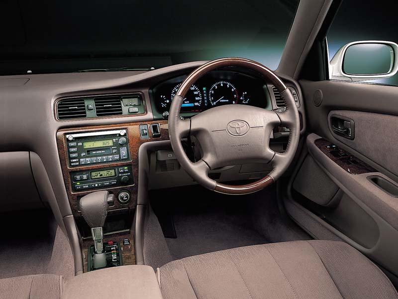 Toyota Cresta X100, 1JZ, JZX100, driftowóz, tuning, RWD, zdjęcia, 日本車, チューニングカー, ドリフト走行, トヨタ クレスタ, wnetrze, interior
