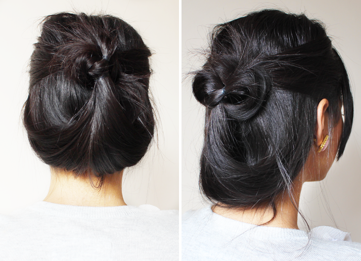 Hair: Quick and Easy 2 Minute Casual Updo