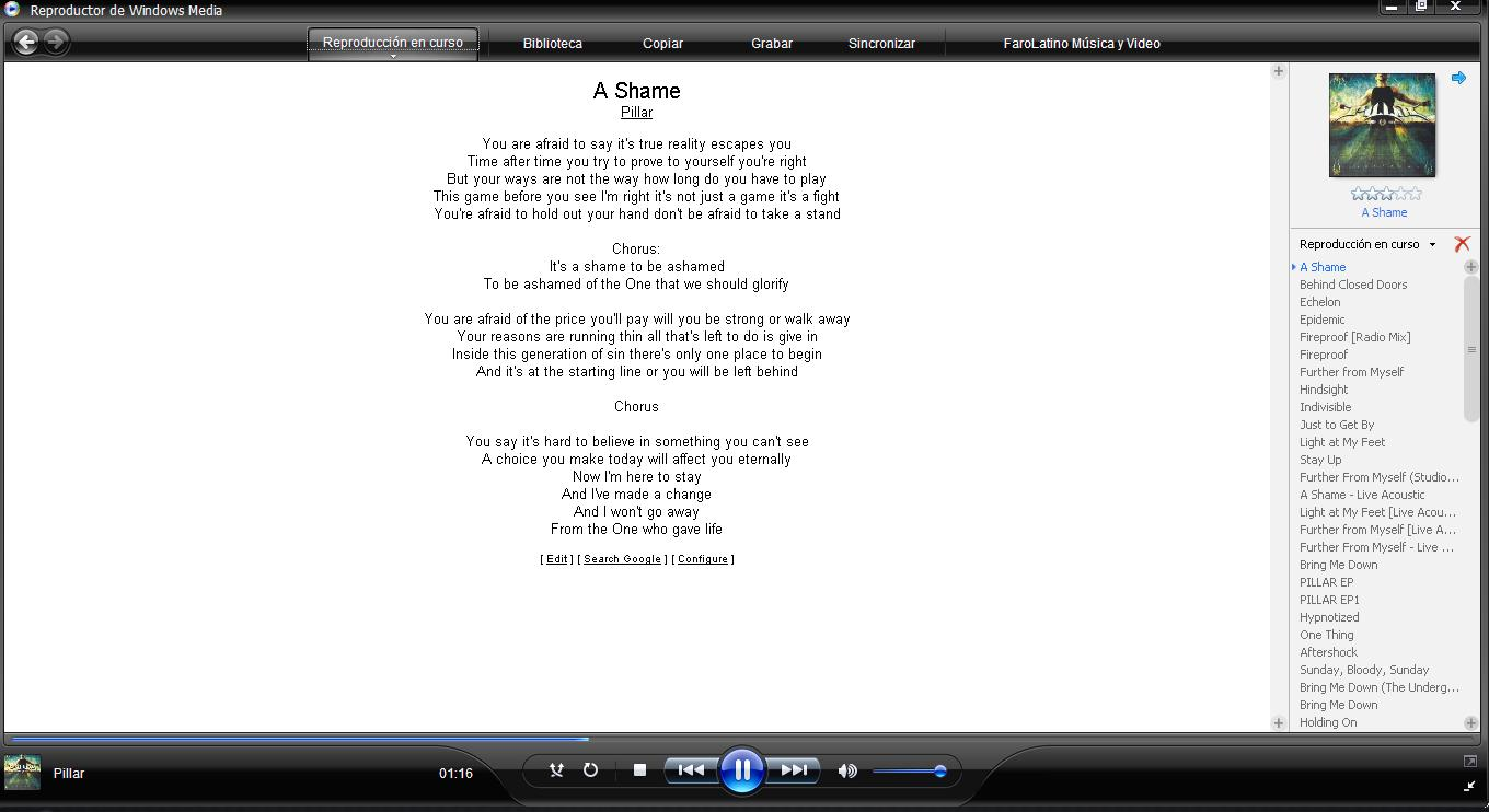 how to use lyrics plugin for windows media player