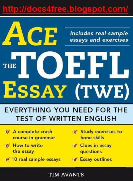 scoring the toefl essay