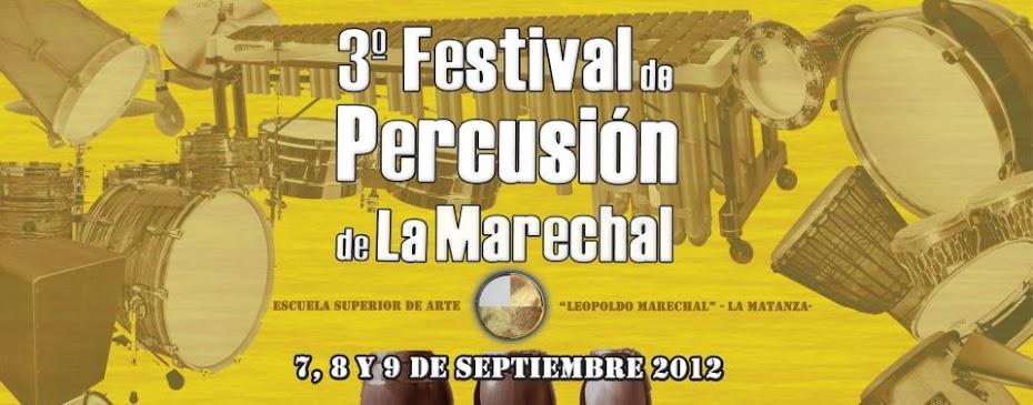 Festival de Percusion de la Marechal