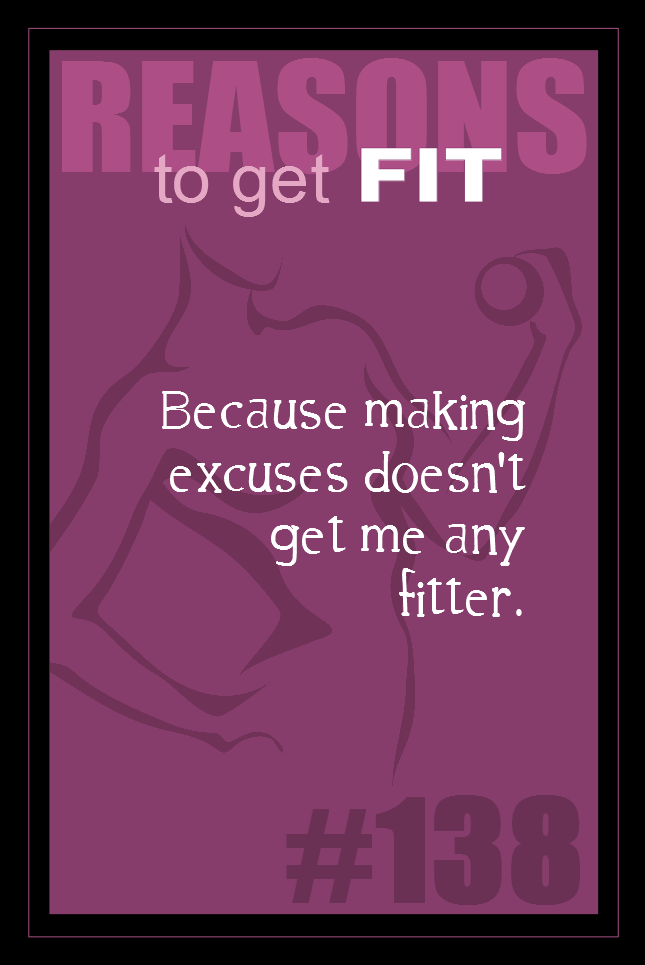 365 Reasons to Get Fit #138