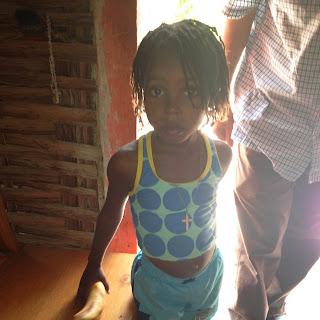 Haiti's future: A beautiful young girl in Oranges de Bainet