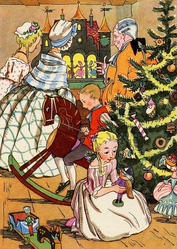 Сказочные Иллюстрации: Ника Гольц - Щелкунчик и Мышиный Король