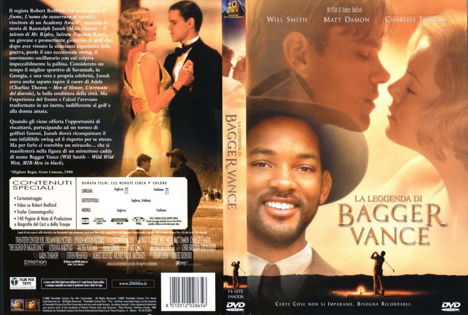The Legend Of Bagger Vance Movie Cast