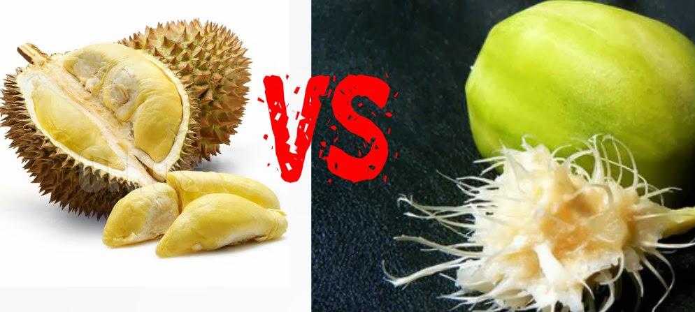 Filosofi Kedongdong vs durian