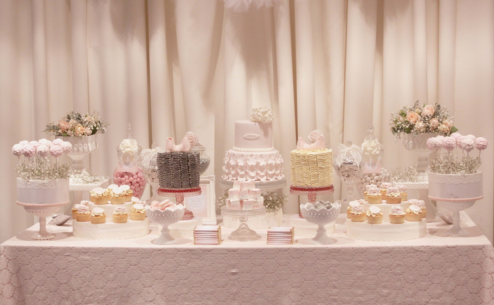 Cake Table Ideas For Christening : ONE LOVELY DAY: Katerina s Christening Dessert Table