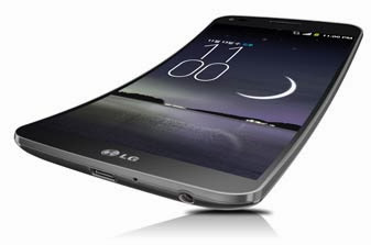 LG New Curved Smartphone, curved screen, Samsung curved screen, Galaxy Round, G flex