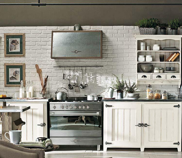 Decoración de la Casa: Cocinas grandes y pequeñas con un aire de ...
