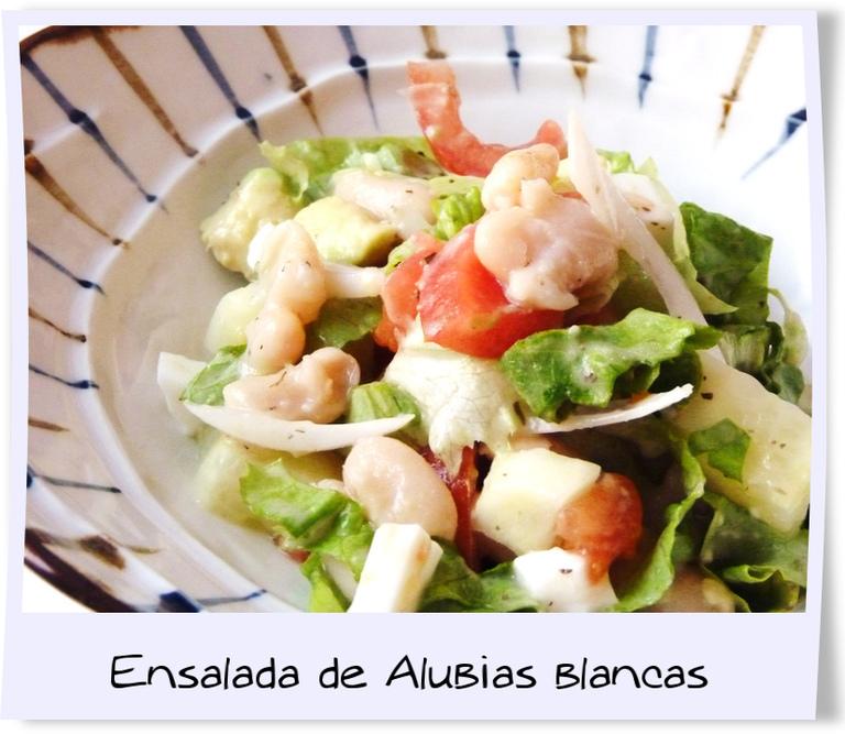 Caramelo y vainilla ensalada de alubias blancas blog de - Ensalada de alubias ...