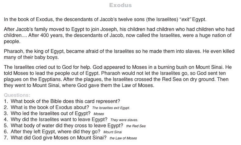 Bible job essay