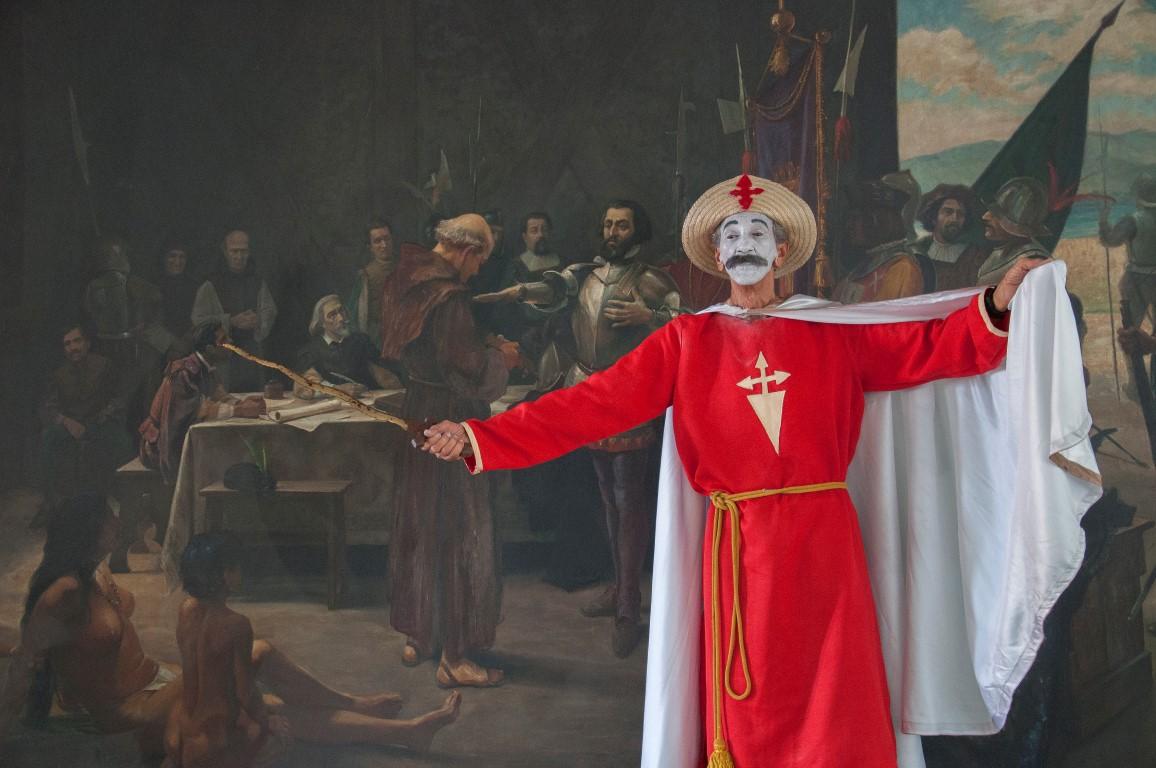 De cómo Santiago Apóstol puso los pies en la tierra