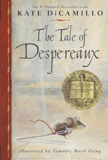 Book cover: The Tale of Despereaux by Kate DiCamillo