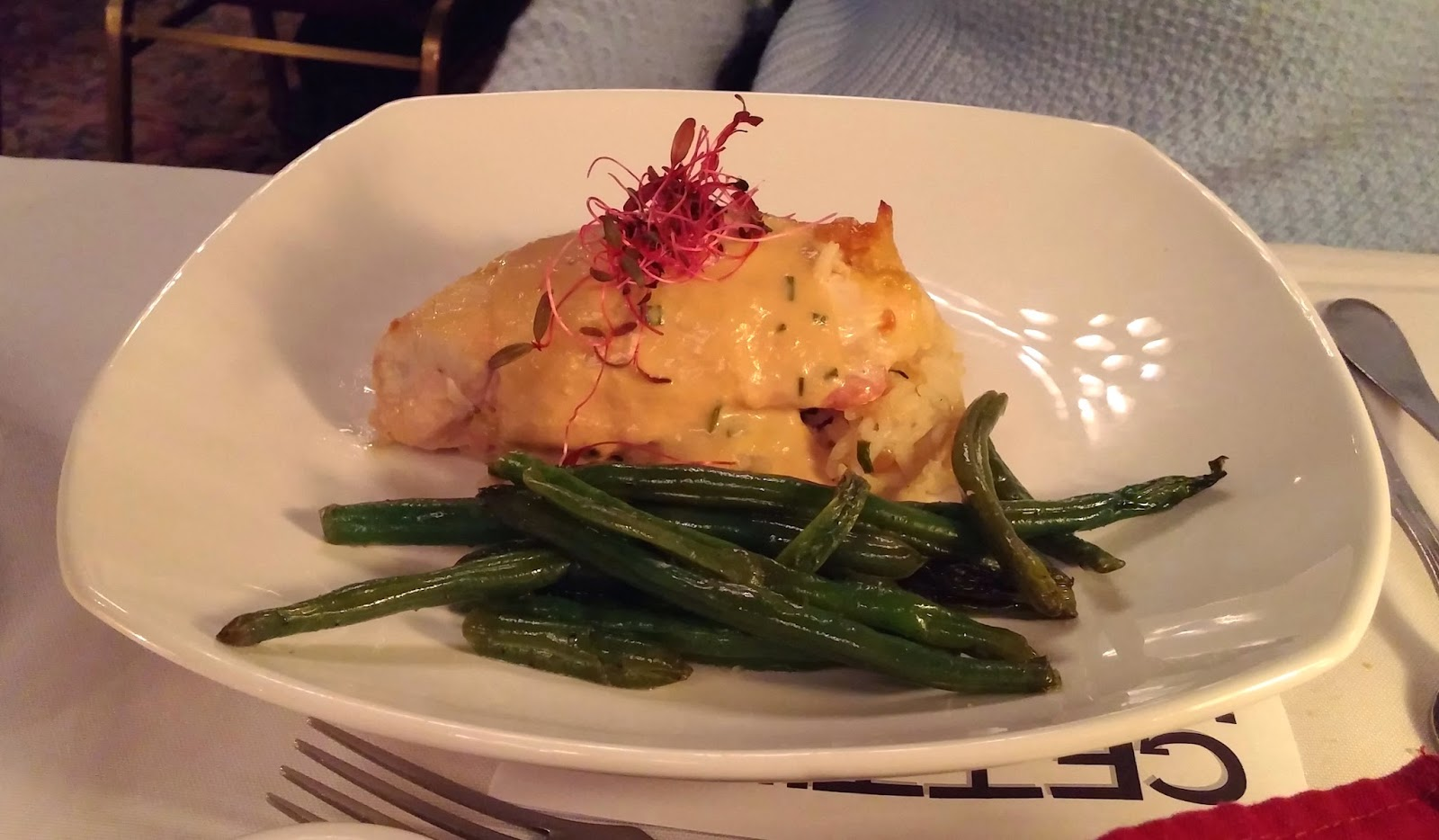 Mysteriously Yours Dinner Theatre: Getting Hitched - maple dijon chicken