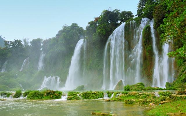 Cascadas Vietnam Waterfalls