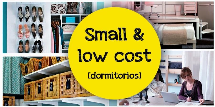 Small and low cost c mo organizar un dormitorio peque o - Amueblar piso low cost ...